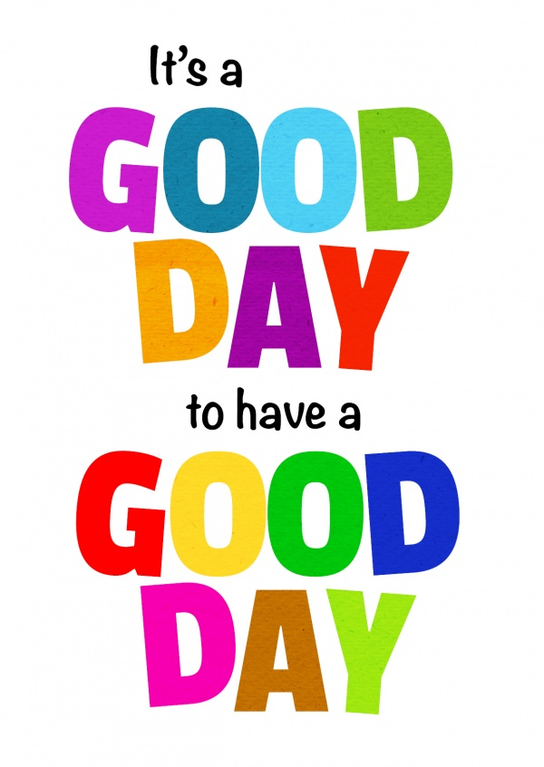 600x846 Have A Good Day Clipart
