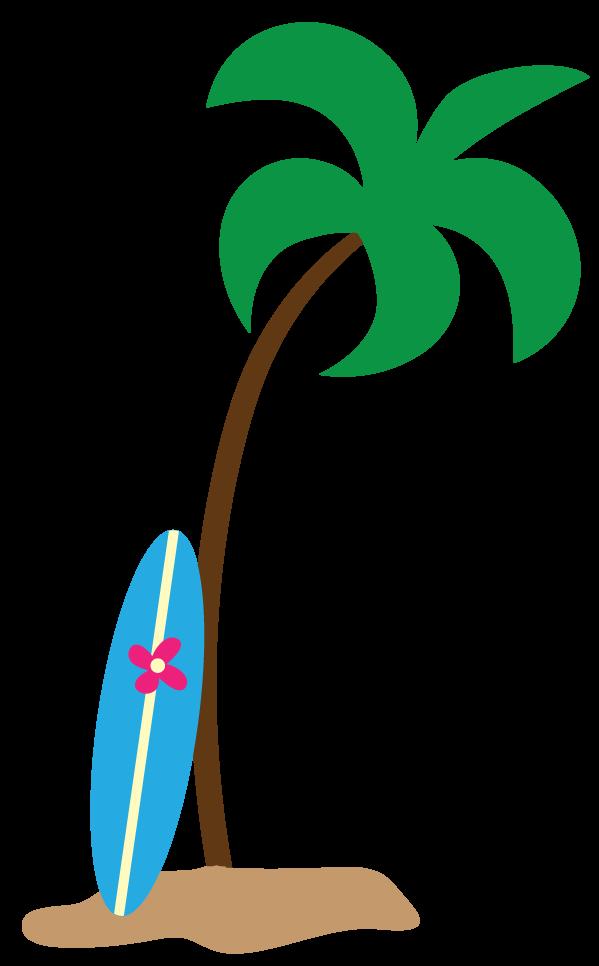 599x966 Hawaiian Palm Tree Clip Art Free Clipart Images