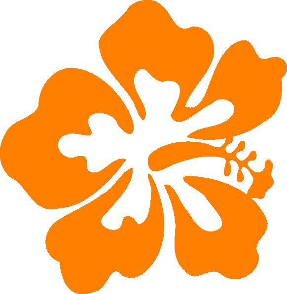 582x597 Hawaiian Flower Tropical Free Hawaiian Clip Art Flower Luau