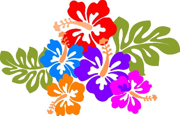 600x385 Hawaiian Flower Hawaiian Clipart 6 Hawaii Flower Hibiscus