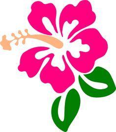 236x269 Pink Flower Clipart Hawaiian Flower