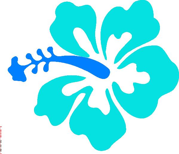 600x515 Blue Hawaiian Clip Art Cliparts