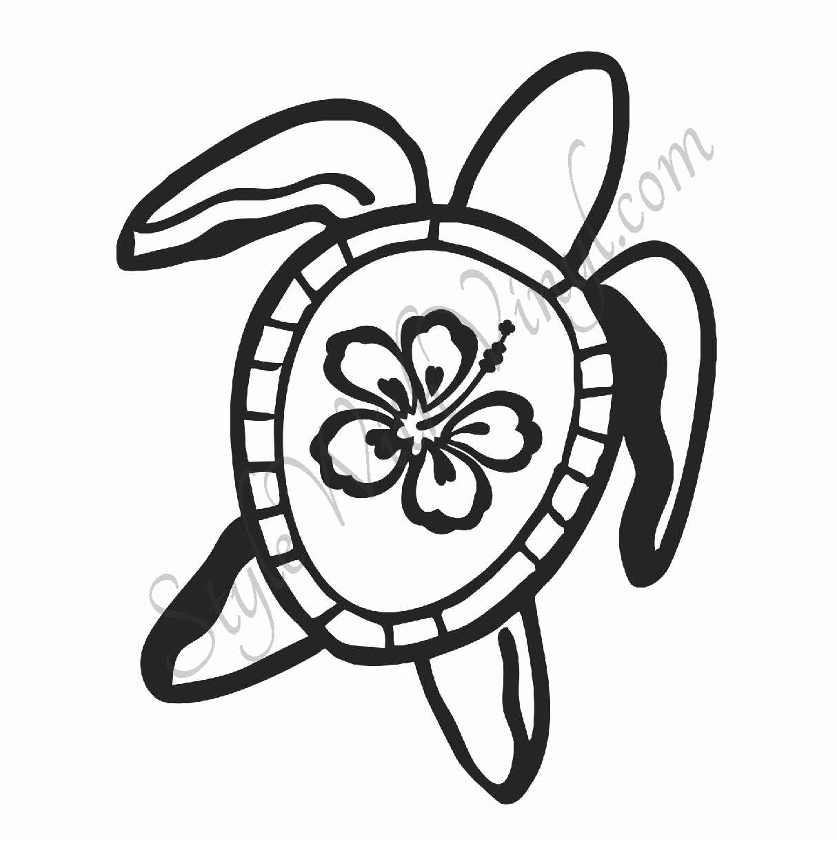 Hawaiian flower outline free download best hawaiian flower outline 1214x1221 hawaiian flower coloring pages izmirmasajfo
