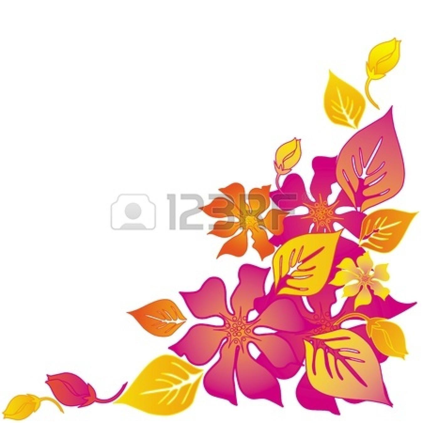 Hawaiian flowers border free download best hawaiian flowers border 1350x1350 pink flower clipart abstract flower mightylinksfo