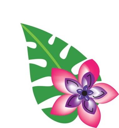 380x409 Hawaii Hawaiian Clipart