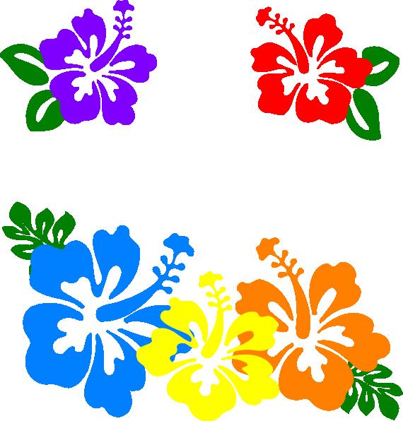 570x596 Hawaiian Clip Art Borders Free