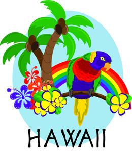 260x300 Hawaiian Images Clip Art