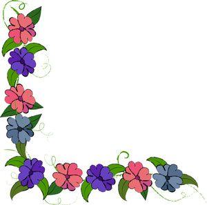 300x297 Hawaiian Flowers Clip Art