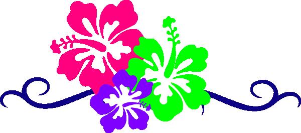 600x265 Hawaiian Clip Art Borders Free