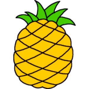 300x300 Hawaiian Pineapple Clipart Free Clip Art Images Image 0