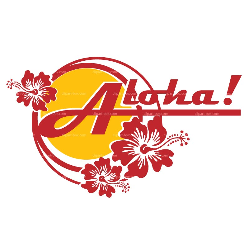 800x800 Free Aloha Clipart Image