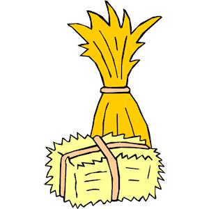 300x300 Straw Clipart Hay