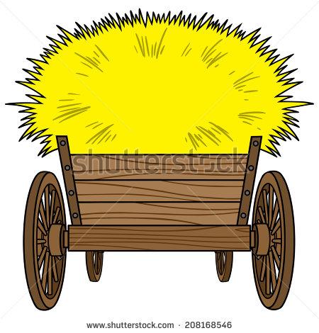 450x470 Cart Clipart Hay Wagon