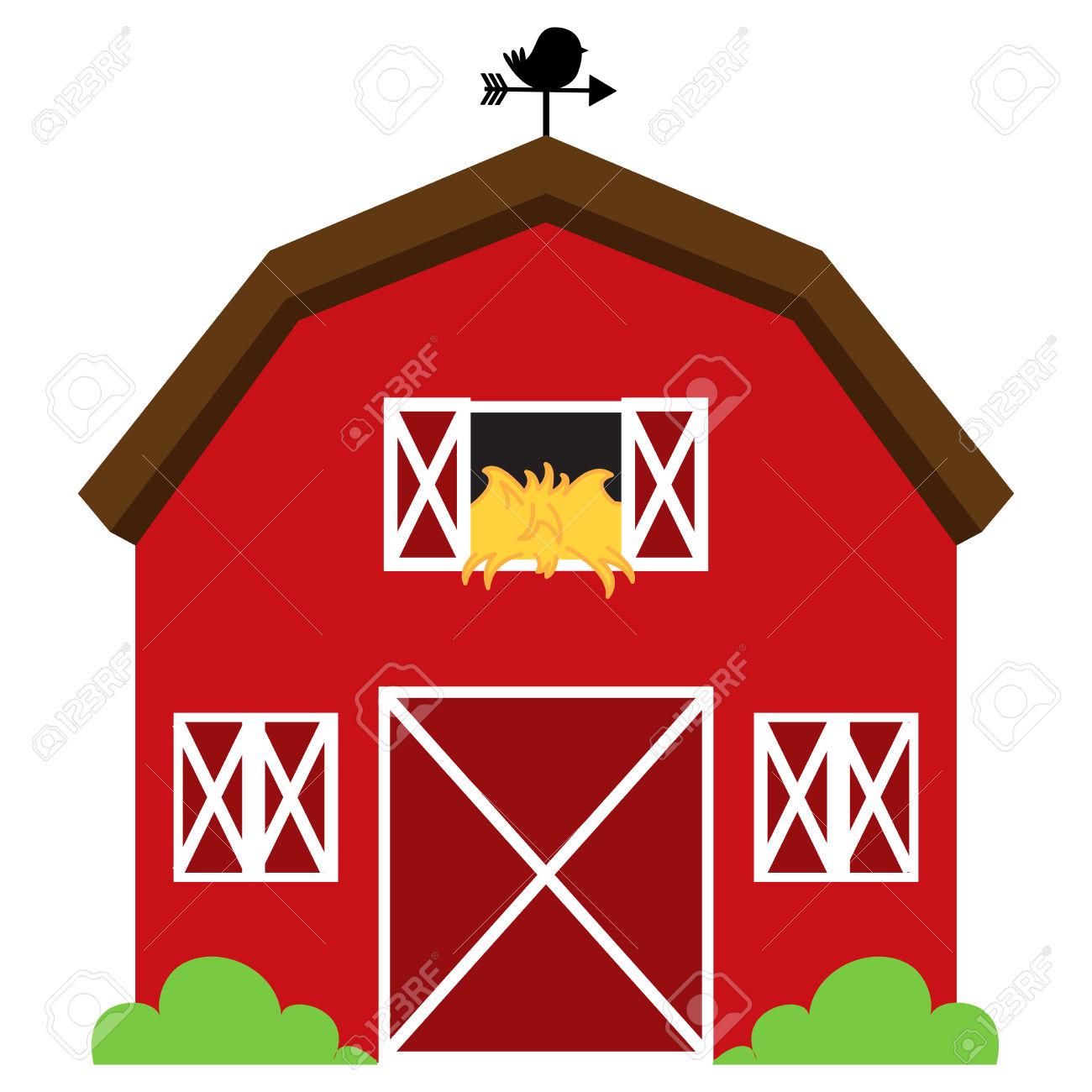 1300x1300 Hay Barn Clipart