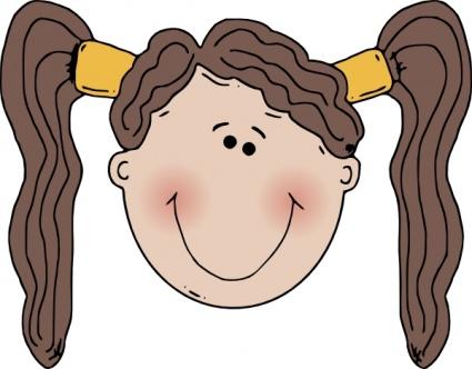 425x332 Head Clipart Children'S