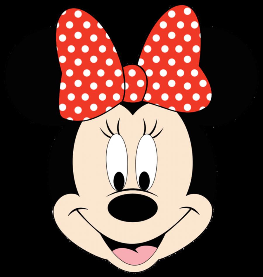900x947 Minnie Head Clipart