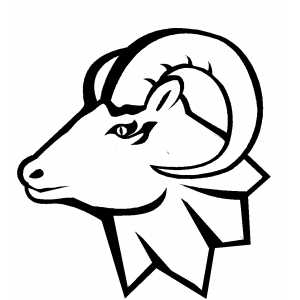 300x300 Ram Head Clip Art Clipart