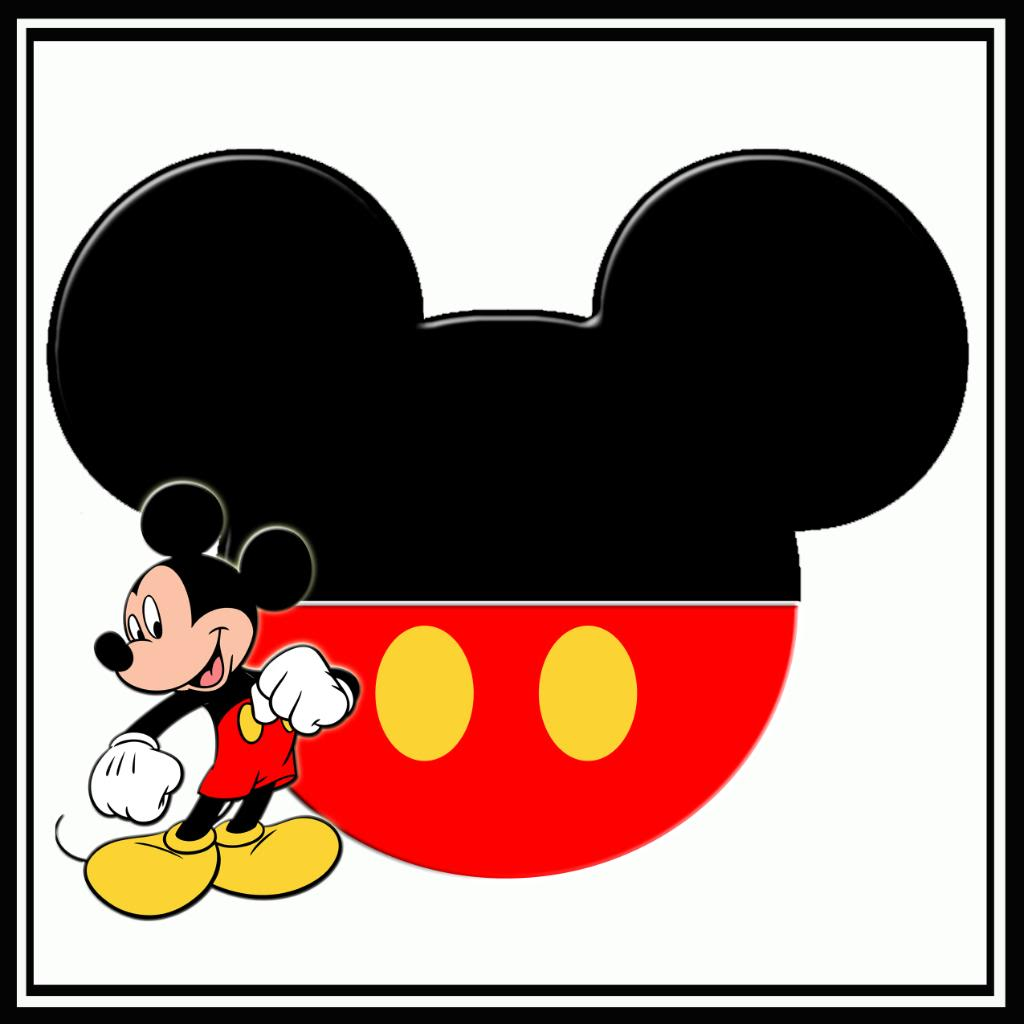 1024x1024 Mickey Mouse Head Clip Art Download