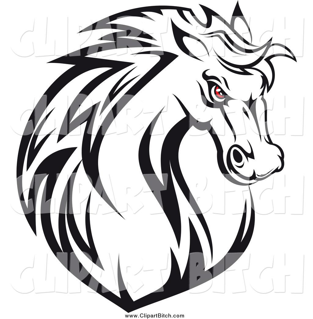1024x1044 Horse Head Clipart Black And White Clipart Panda