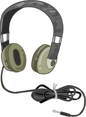 340x463 Computer Headphones Clip Art Cliparts