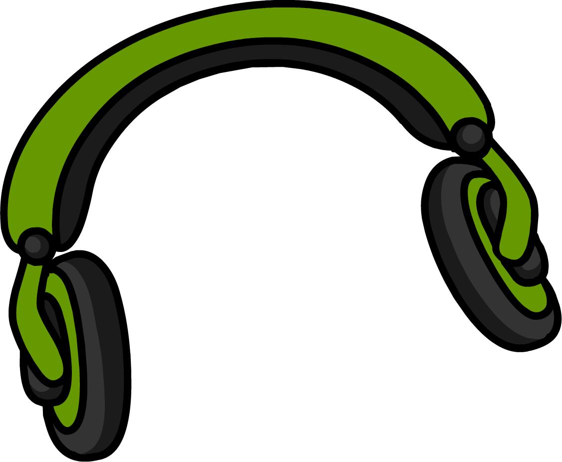 1126x926 Green Headphones Clipart, Explore Pictures