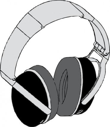 370x425 Headphones Clip Art Download