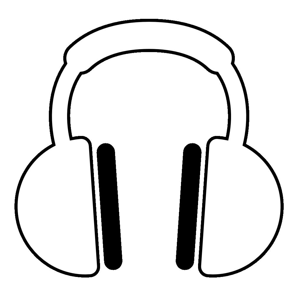 999x999 headphones clipart earphone
