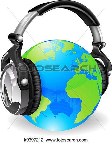 370x470 Headphones Clipart Large