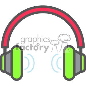 300x300 Royalty Free Headphones Vector Clip Art Images 403893 Vector Clip
