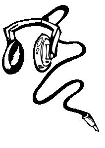 212x300 Headphones Clip Art Download