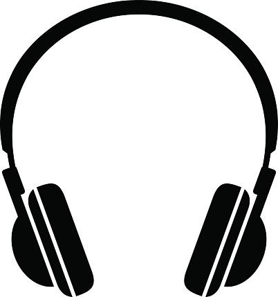 402x429 Headphones Clipart