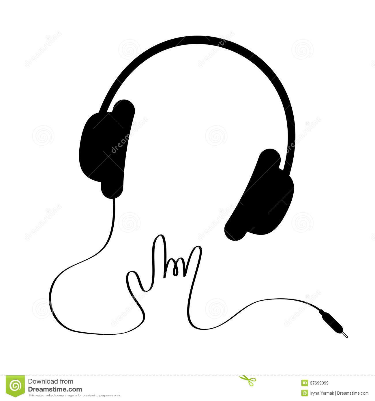 1300x1390 Headphones Clipart Cord Clip Art