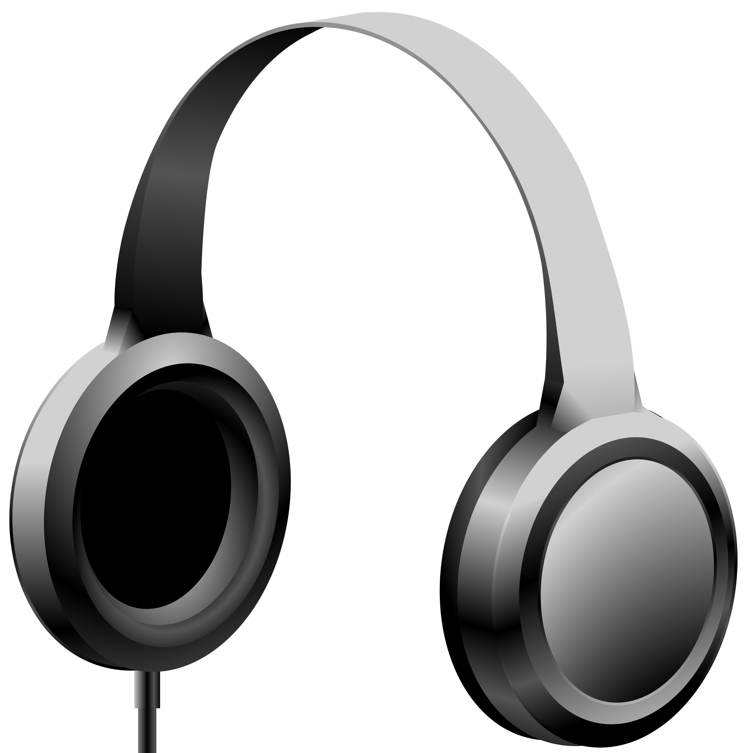 2400x2400 Headphones Clipart Transparent