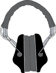 180x235 Headphones, Vector Graphics