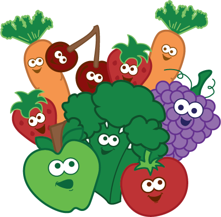 Healthy Food For Kids Clipart