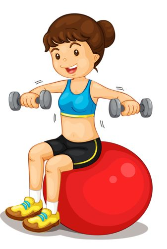Healthy Person Clipart