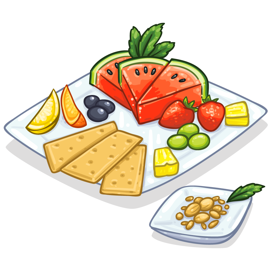 1024x1024 Snack Clipart Healthy Snack
