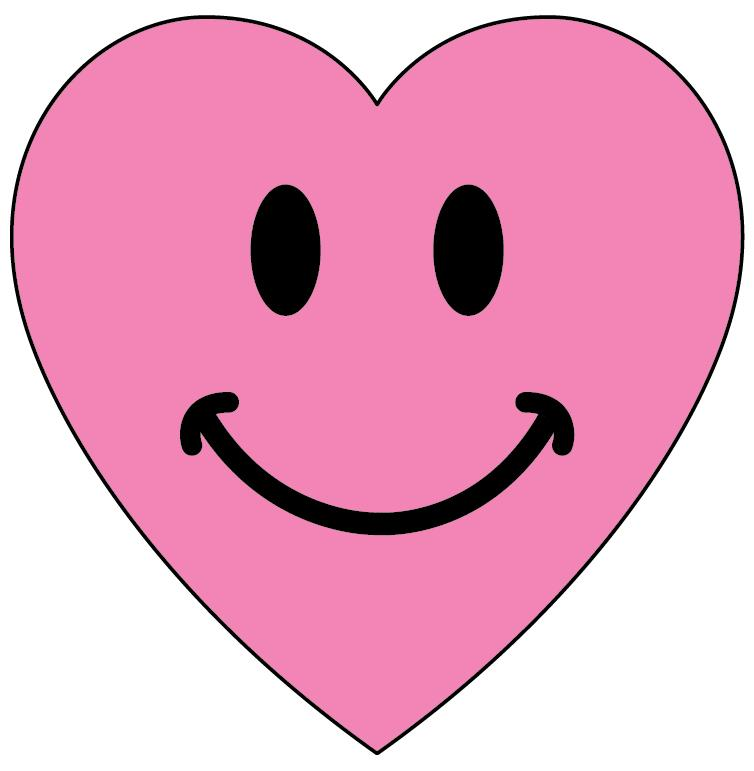 754x771 Heart Smiley Faces Clip Art