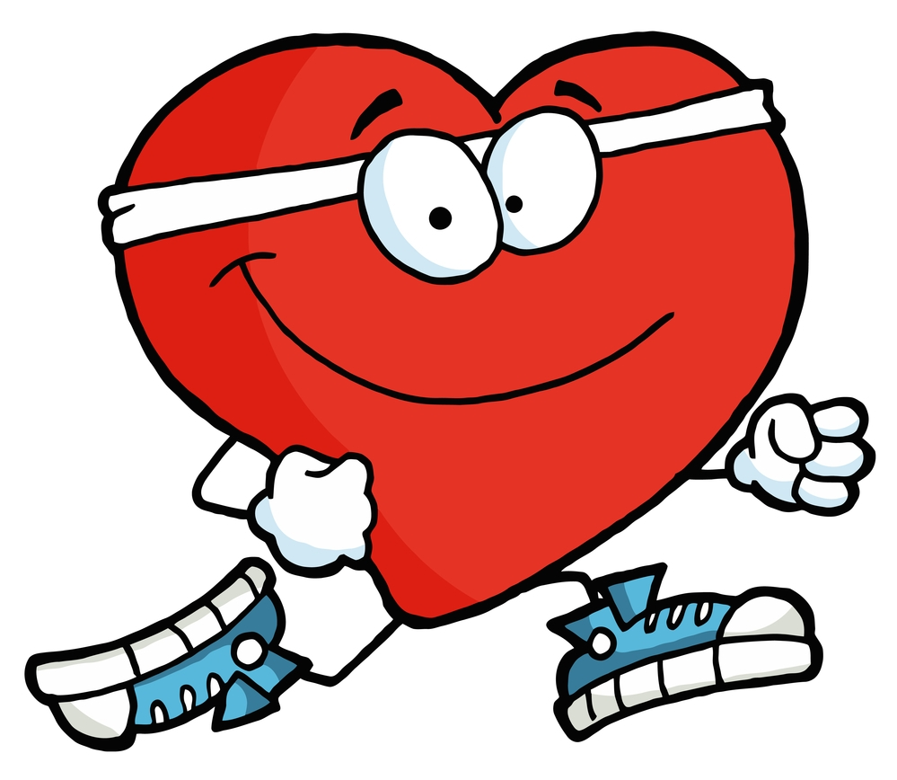 999x868 Heart clipart body