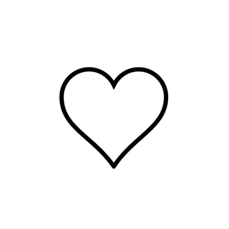736x736 20 Best Heart Tattoo Stencils Images Tasteful