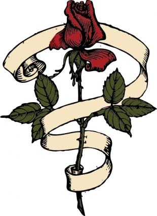 310x425 40+ Scroll Ribbon Tattoo Designs And Images