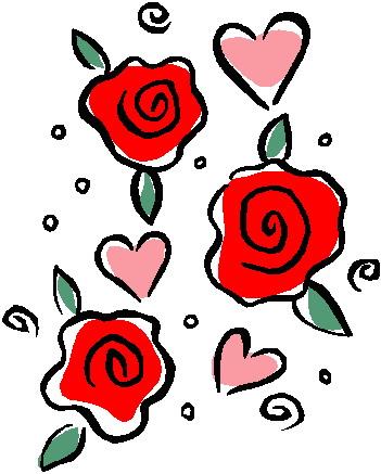 351x437 Top 76 Roses Clip Art