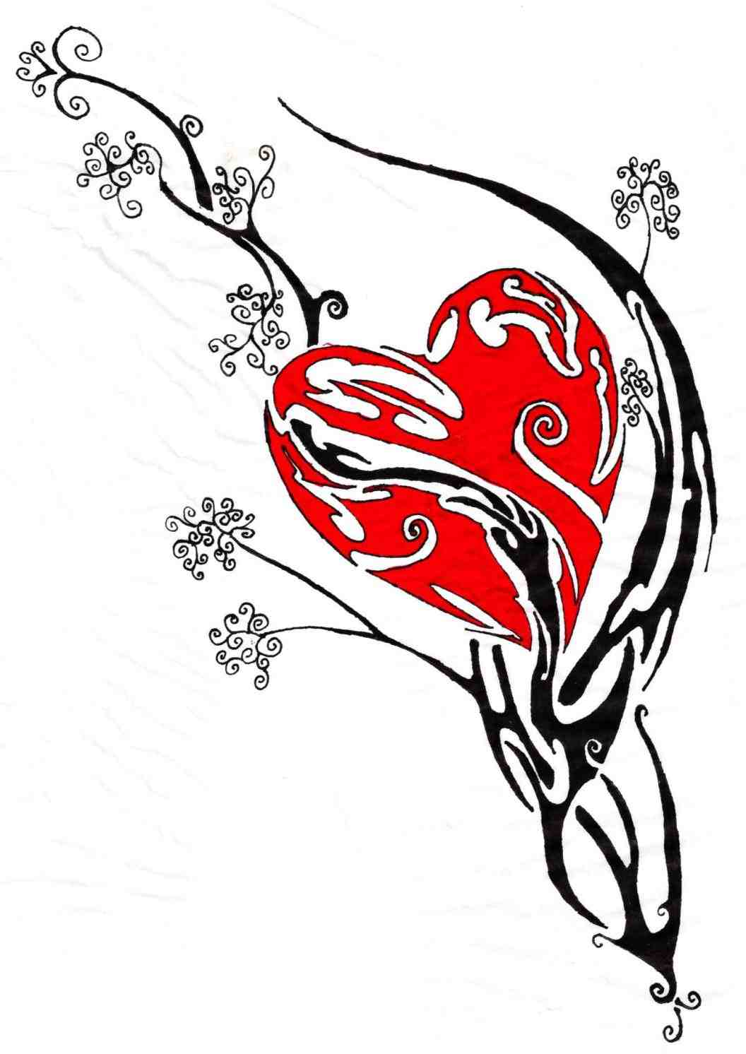1056x1492 motif design rose tattoo s love shaped pencil rose drawing designs