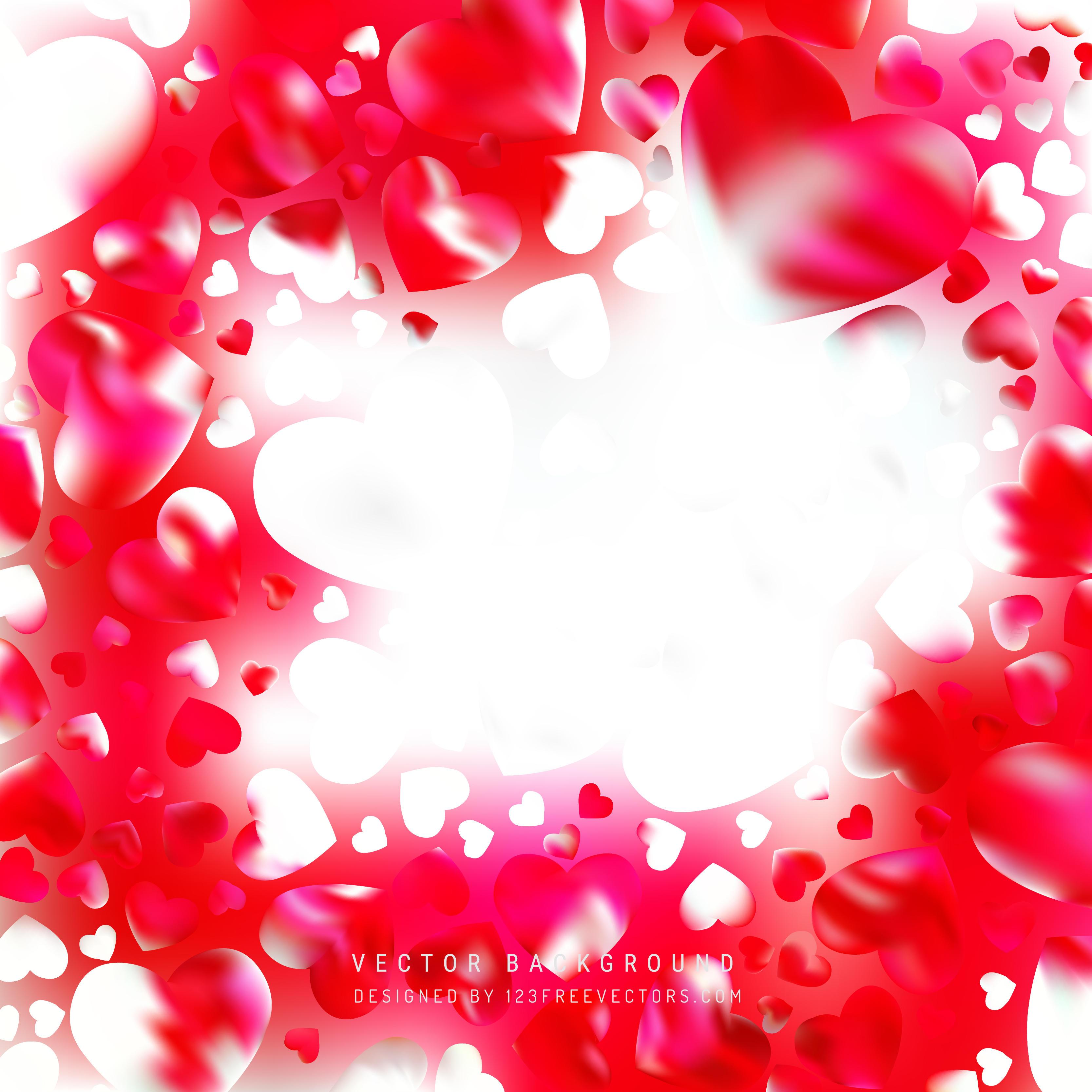 3333x3333 Red Heart Background Vectors Download Free Vector Art