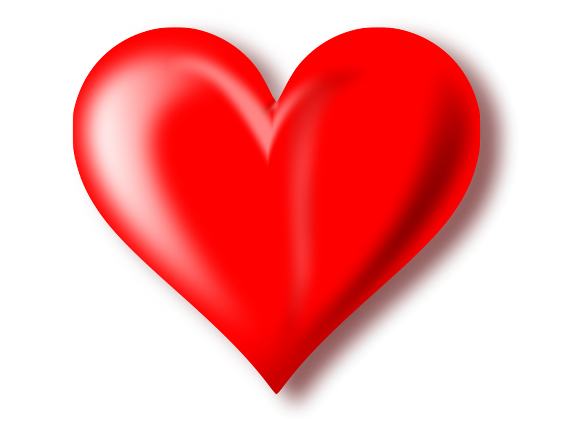 1920x1440 3d Red Heart Transparent Background Png Mart