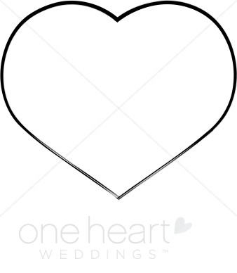 338x388 Heart With Arrow Clipart Black