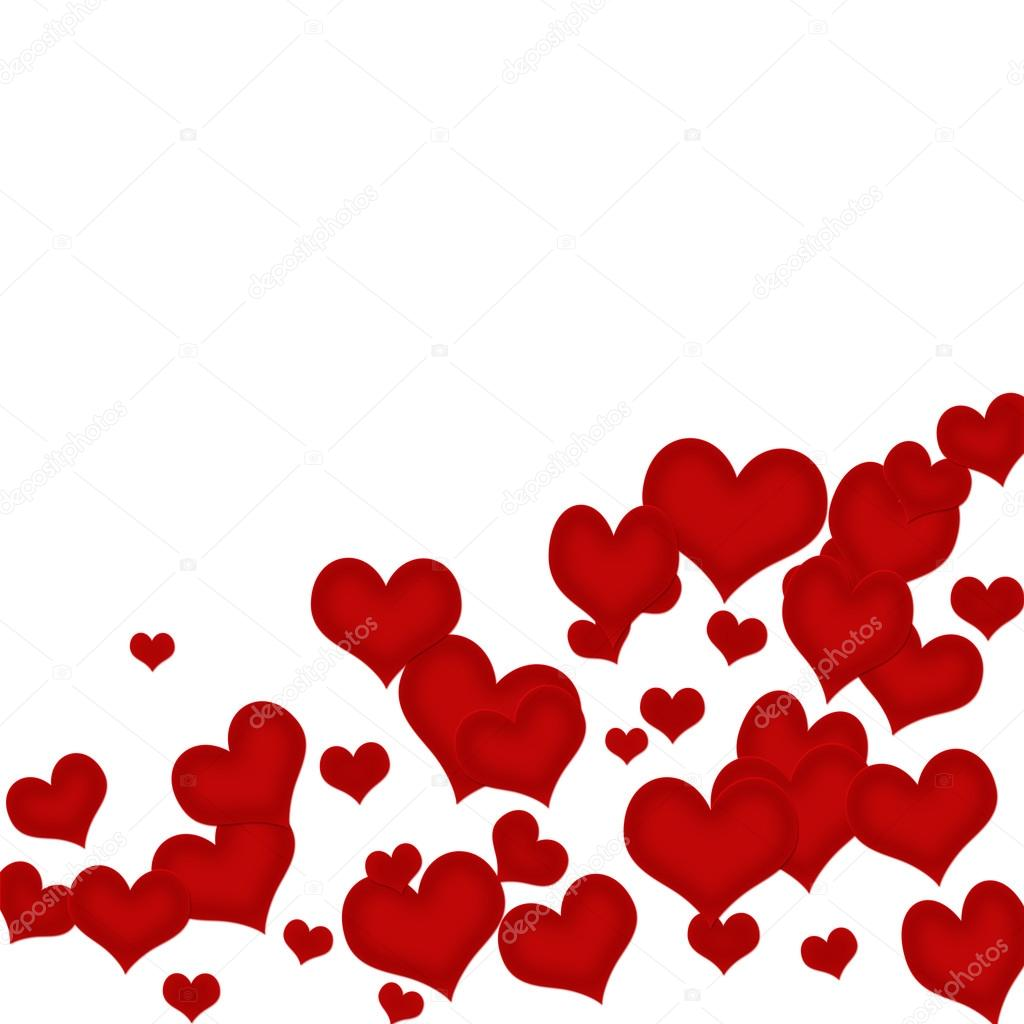 1024x1024 Heart Border — Stock Photo © karenr
