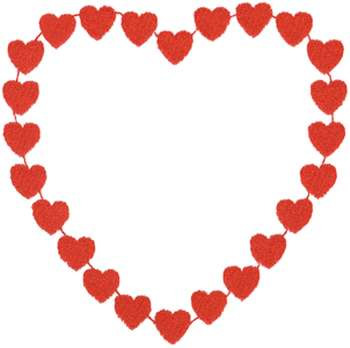 350x348 Heart border embroidery design st valentines day –