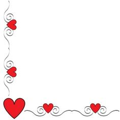 236x236 Printable red heart border. Free GIF, JPG, PDF, and PNG downloads