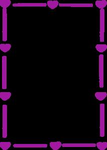 213x298 Purple Heart Border Clip Art
